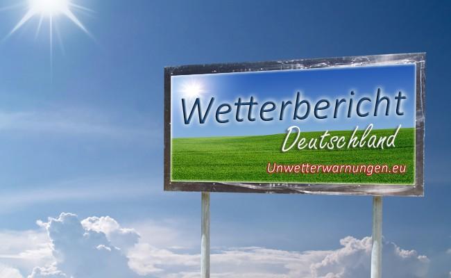 Wetterbericht / Wettervorhersage für Deutschland – Montag – 17.04.2013
